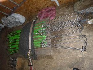 Kukorica permetező rendszer